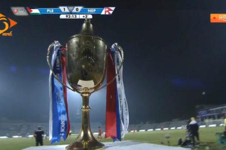 बंगबन्धु गोल्डकप : लगातार दुई खेल हारेपछि बंगबन्धु गोल्डकपको साविक विजेता नेपाल समूह चरणबाटै बाहिरियो