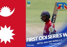 नेपाललाई ऐतिहासिक सफलता, निर्णायक खेलमा यूएई ४ विकेटले पराजित