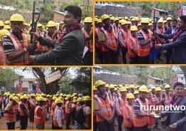 रोजगार मन्त्रीकै निर्वाचन क्षेत्रबाट रोजगारी सुरु : ९० जनालाई एकैचोटि जागिर