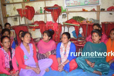 उद्यमी बन्ने होडमा गाउँले महिलाहरु घर छेउँमै सीप