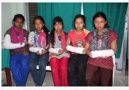 शिक्षिकाको कुटाइबाट पाँच विद्यार्थीको हात भाँचियो