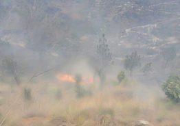 यसरी लाग्यो भटकुवाको जंगलमा आगो: फोटो फिचर