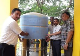रिडि माबी लाई कृषि बिकास बैंक द्वारा पानी टंकी तथा फिल्टर  प्रदान।