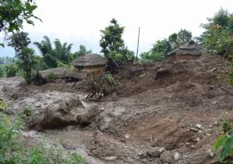वर्षाका कारण गुल्मिको छापचौरमा घर भत्कदा १ को मृत्यु