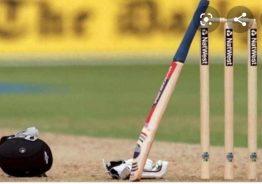 एकलाख रुपैया  पुरस्कार राशिको क्रिकेट प्रतियोगिता रुरुको घ्युबेसीमा हुँदै।