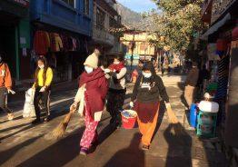 नेपाल भ्रमण बर्षको पुर्ब सन्ध्यामा रिडिमा गरियो सरसफाइ